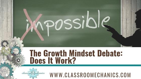 Misinterpreting Growth Mindset Why Were >> The Growth Mindset Debate Does It Work Classroomechanics